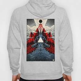 Falling Unknown (color) Hoody