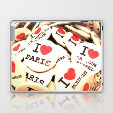 I love Paris Laptop & iPad Skin