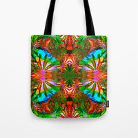 aloha Tote Bags featuring Aloha by Glanoramay