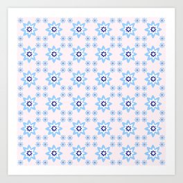 Blue flower 2 Art Print