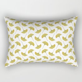 watercolour ginkgo Rectangular Pillow