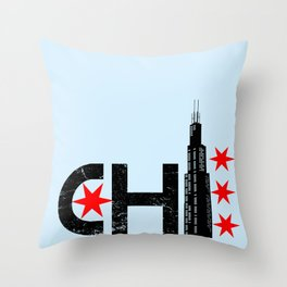The Chi Throw Pillow