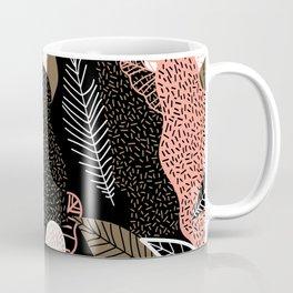 Naive Black Coffee Mug