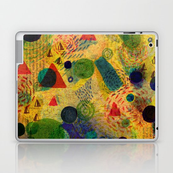 Color Dimension Laptop & iPad Skin