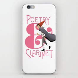 Poerty & Clarinet iPhone Skin