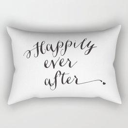 {Happily ever after} Rectangular Pillow