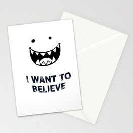 I Want To Believe in BigFoot Stationery Cards