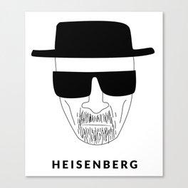 »Heisenberg« kids drawing Canvas Print