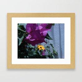 Flowers #9 Framed Art Print