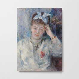 Portrait of Mademoiselle Marie Murer Metal Print