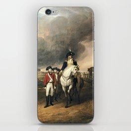 The Surrender of Lord Cornwallis at Yorktown John Trumbull Print Poster iPhone Skin
