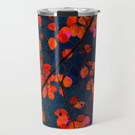furious red leaves Travel Mug