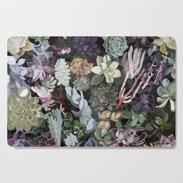 succulent garden Cutting Board
