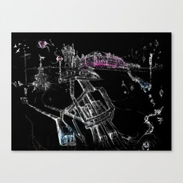 London Soho Canvas Print