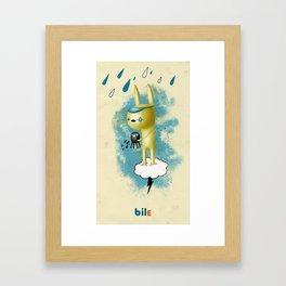 Bile Gialla Framed Art Print