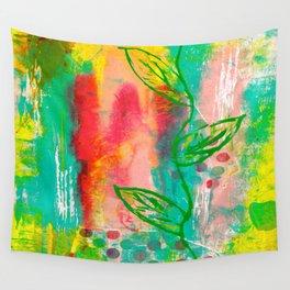 Polka Dots & Vine Wall Tapestry