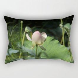 In Delicate Pinks Rectangular Pillow