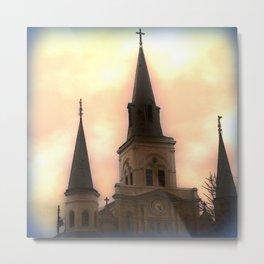 Saint Louis Cathedral Metal Print