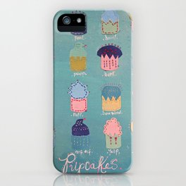 Pupcakes iPhone Case