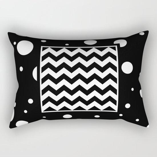 Chevron And Fizz Rectangular Pillow