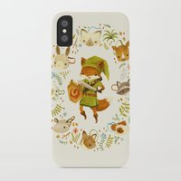 decorative iPhone & iPod Cases featuring The Legend of Zelda: Mammal's Mask by Teagan White