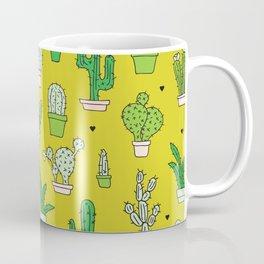 Botanical dessert cactus pattern Coffee Mug