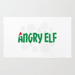Angry Elf Rug