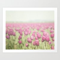 tulip Art Prints featuring Tulip by Pure Nature Photos