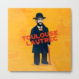 Toulouse-Lautrec Metal Print