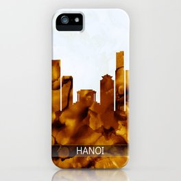 Hanoi Vietnam Skyline iPhone Case