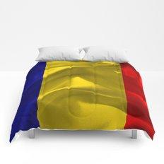 Romania Flag Comforters