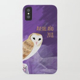 Totem Barn owl (GREFA) iPhone Case
