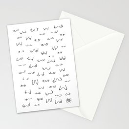 All Boobs Are Beautiful Stationery Cards