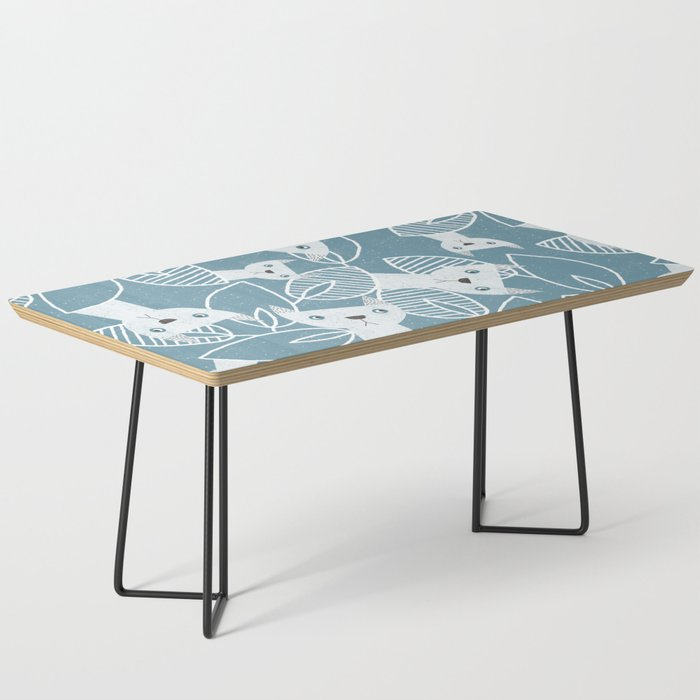 Peaking Cats Coffee Table