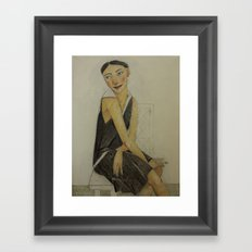LADY KATE Framed Art Print