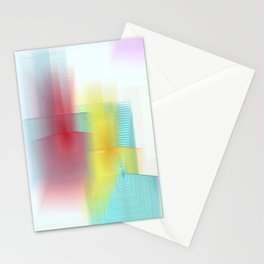 Abstract 1602 Stationery Cards
