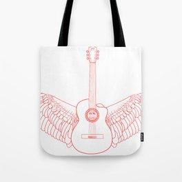 Flying Guitar. Tote Bag