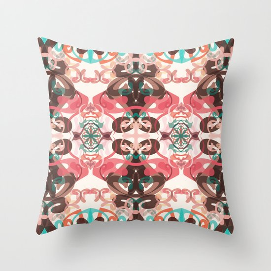 Loud again Throw Pillow