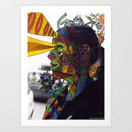 Psychoactive Bear 8 Art Print