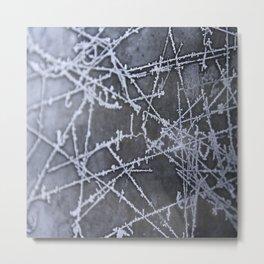 Texture #8 Ice Metal Print