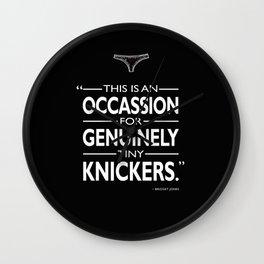 Tiny Knickers Wall Clock