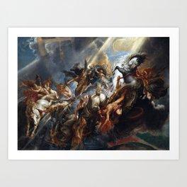 Peter Paul Rubens The Fall of Phaeton Art Print