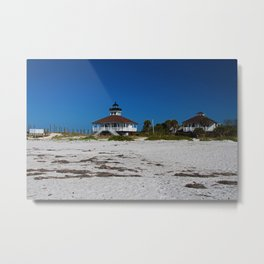 Boca Grande Lighthouse X Metal Print