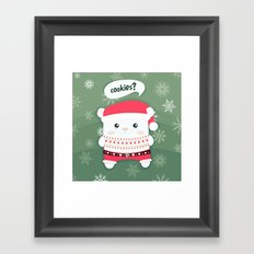 cookies? Framed Art Print