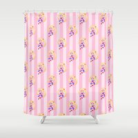 sailor moon Shower Curtains featuring Sailor Moon by spookzilla
