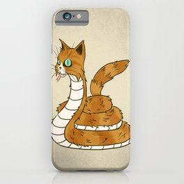 Cat Snake iPhone Case