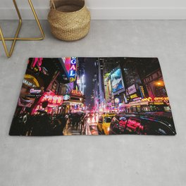 New York City Night Rug
