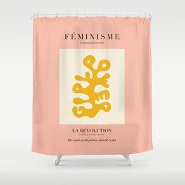 L'ART DU FÉMINISME III Shower Curtain