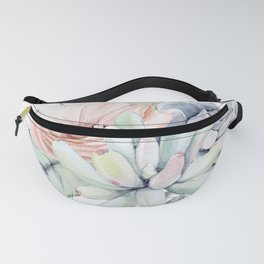 Pretty Succulents by Nature Magick Fanny Pack