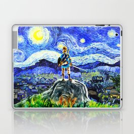 triforce link starry night Laptop & iPad Skin